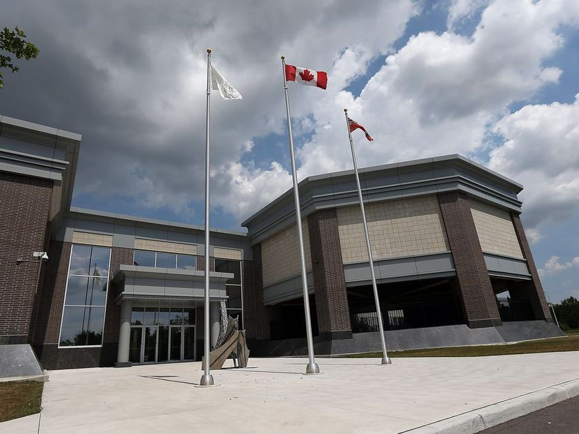 The exterior of the Essex County Civic Centre