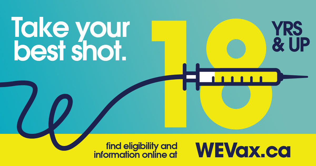 WEVax log with the age 18. Take your best shot.