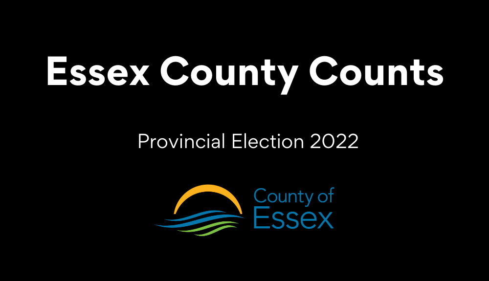 Essex County Counts: Federal Election 2021 (with the Essex County logo)