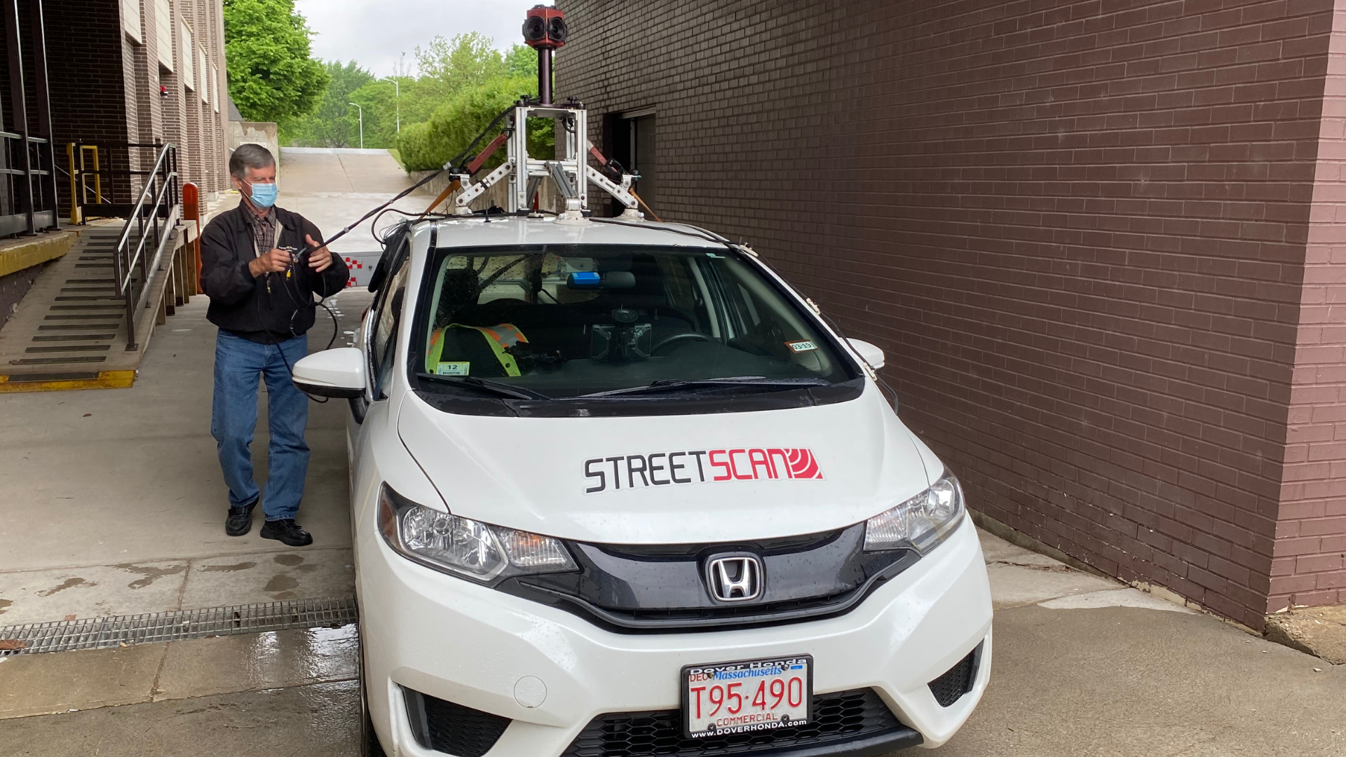 StreetScan car and driver Alan Rowlandson