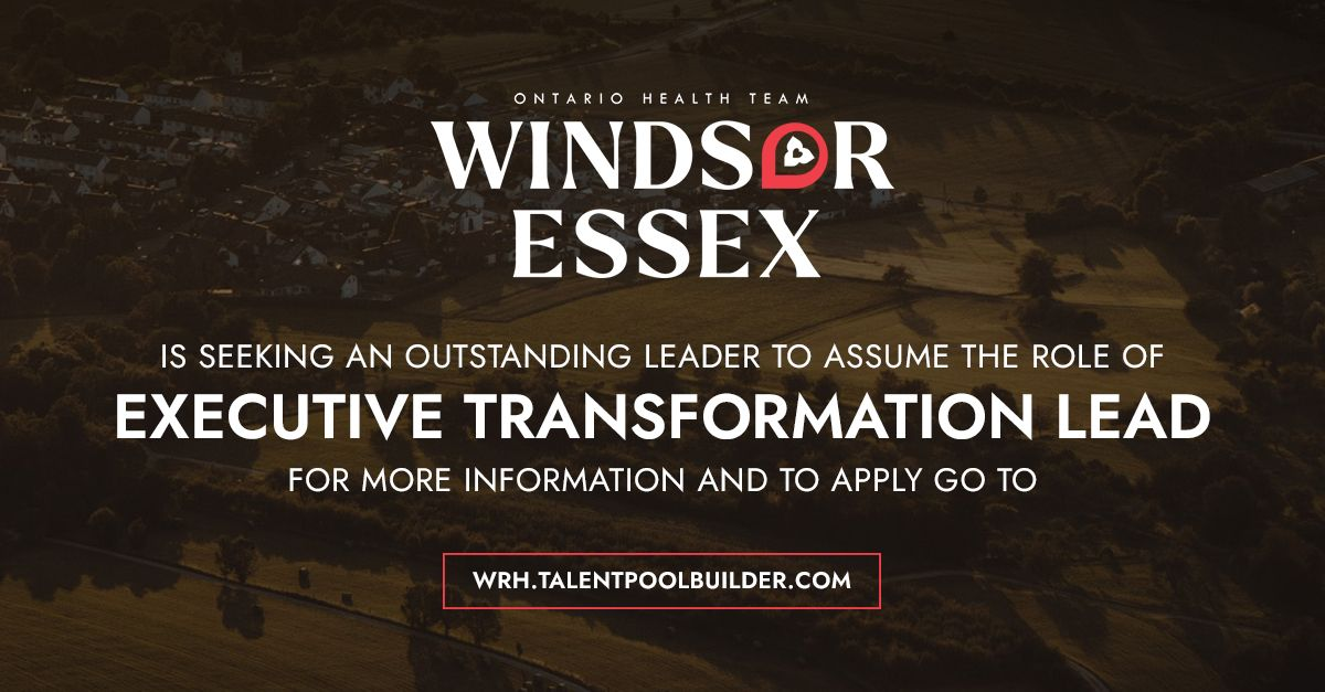 Windsor Essex Ontario Health Team logo.