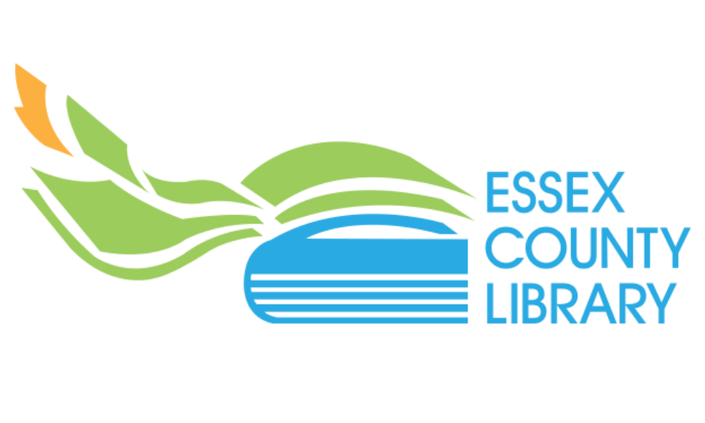 The logo of the Essex County Library