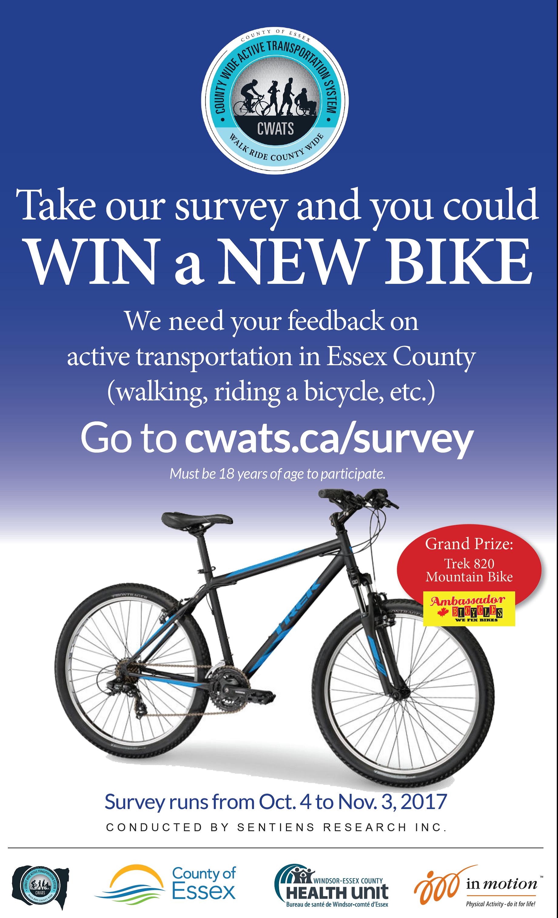 CWATS survey Poster