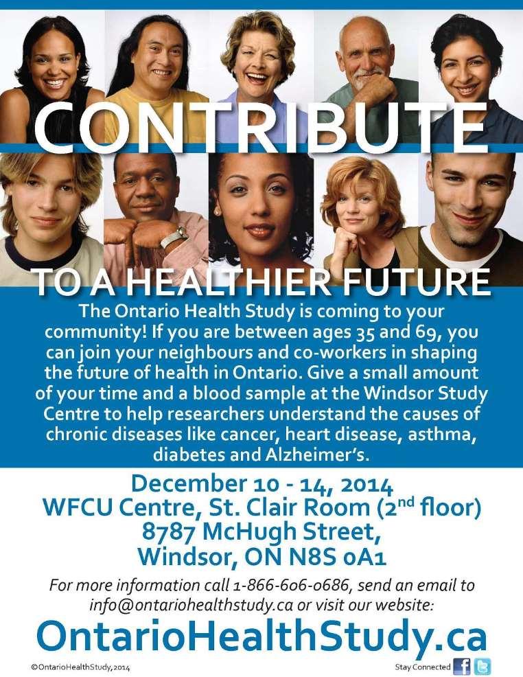 Health Study Poster