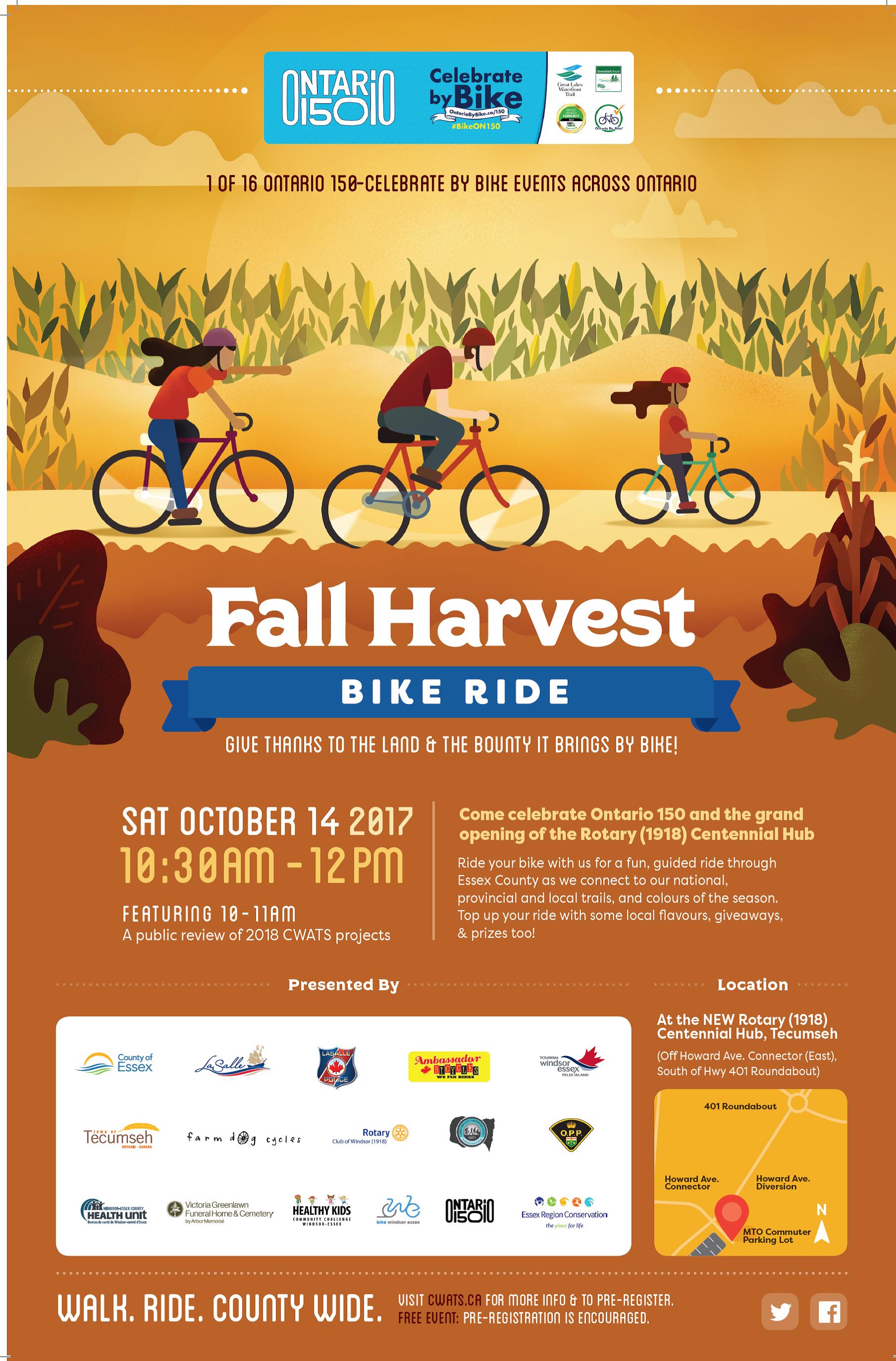 Fall Harvest Bike Ride
